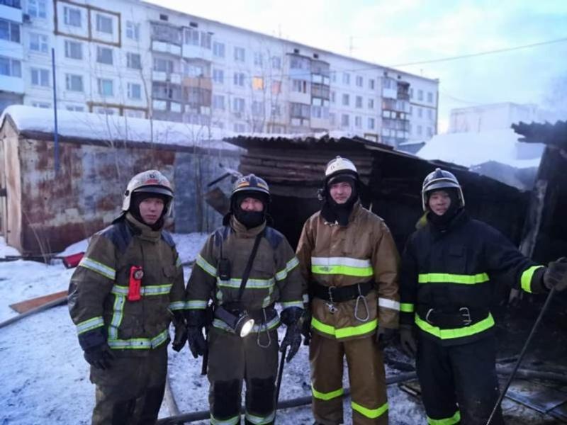 Пожарный Якутска Николай Семенов о своей благородной профессии